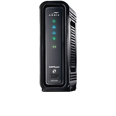 ARRIS SURFboard SBG6580 Cable Modem with Dual Band N300 2.4Ghz + N300 5Ghz WiFi Router