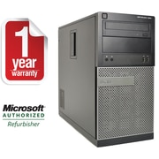 Refurbished DELL Precision 390 Tower Intel C2D-2.13GHz 4GB Ram 500GB Hard Drive DVD Win 7 Professional