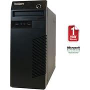 Refurbished Lenovo M80 Tower Intel Corei3-3.2GHz 4GB Ram 1TB Hard Drive DVDRW Win 7 Pro(64bit)