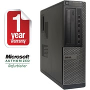 Refurbished DELL 790 Desktop Intel Corei3-2100 3.1GHz 4GB Ram 1TB Hard Drive DVD-CDRW Windows 8.1 64bit