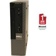 Refurbished Dell 790-USFF Intel Corei5-2400S 2.5GHz 4GB Ram 500GB Hard Drive DVD Win 7 Pro(64bit)