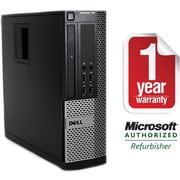 Refurbished Dell 790 Smal Form Factor Intel Corei5-3.3Ghz 8GB Ram 2TB Hard Drive DVDRW Win 7 Pro(64bit)