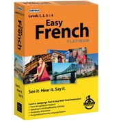 Individual Software Easy French Platinum for Windows (1 User) [Boxed]