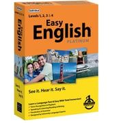 Individual Software Easy English Platinum for Windows (1 User) [Boxed]