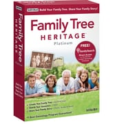 Family Tree Heritage Platinum 9 for Windows (1 User) [Boxed]