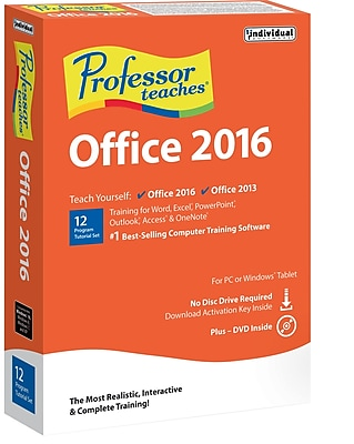 Professor Teaches Office 2016 for Windows 1 User [Boxed]
