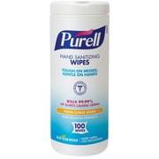Purell® Hand Sanitizing Wipes, 100/Tub