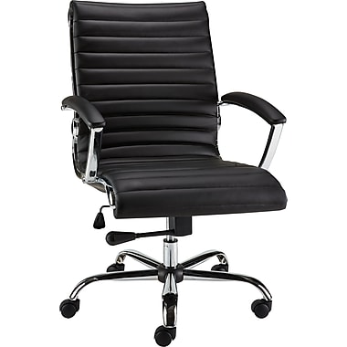 Staples Bresser Luxura Managers Chair, Black