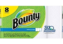 Bounty® Select-A-Size™ Paper Towels, 8 Regular Rolls (PGC 88187/81531)