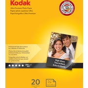 "Kodak Ultra Premium Photo Paper High Gloss 5""x7"" , 20 sheets per pack"
