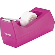 Scotch® Jewel Pop Desktop Tape Dispenser, Hibiscus