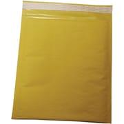 "Staples Self Seal #2, 8-1/2"" X 11"" Kraft Bubble Mailer, 100/Pack"