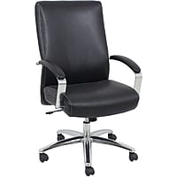 Global Furniture Executive Leather Chair (Black)