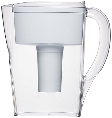 Brita Space Saver Water Filter Pitcher, White, 6 Cup (35566) 1739074
