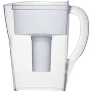 Brita Space Saver Water Filter Pitcher, White, 6 Cup (35566)