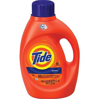 Tide® HE Laundry Detergent, Original Scent, 100 oz.