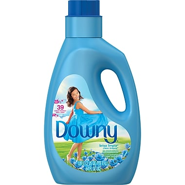 Downy® Non Concentrated Fabric Softener, Clean Breeze, 64 oz.