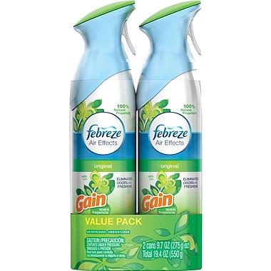 Febreze® Air Effects Air Freshener Spray with Gain®, 9.7 oz., 2/Pack