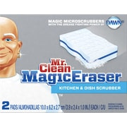 Mr. Clean® Magic Eraser Unscented Kitchen Scrubber, 2/Pack
