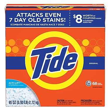 Tide® HE Powder Laundry Detergent, Original, 95 oz.