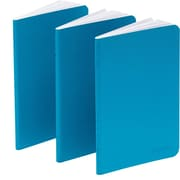 Poppin Pool Blue Mini Notebooks, Set of 50