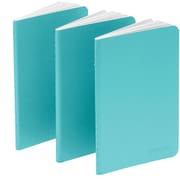 Poppin Aqua Mini Notebooks, Set of 50