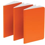 Poppin Orange Mini Notebooks, Set of 50