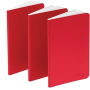 Poppin Red Mini Notebooks, Set of 50