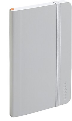 Poppin Light Gray Small Softcover Notebooks Set of 25