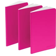 Poppin Pink Mini Notebooks, Set of 3