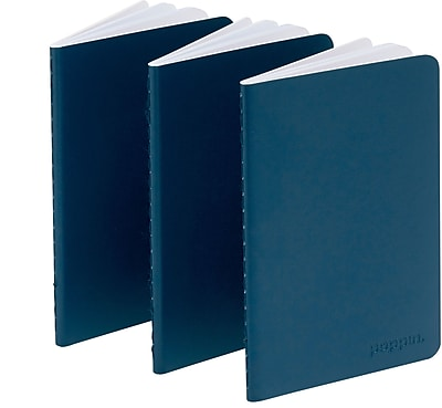 Poppin Navy Mini Notebooks Set of 50