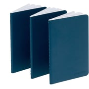 Poppin Navy Mini Notebooks, Set of 50