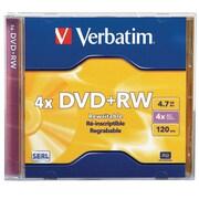 Verbatim IM1C7774 4.7 GB DVD+RW Jewel Case, Each
