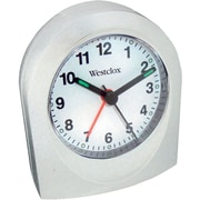 Westclox White Quartz Alarm Clock
