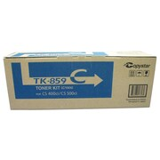 Kyocera TK859C Cyan Toner Cartridge
