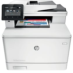 HP LaserJet Pro M377dw Wireless Color Laser All-In-One Printer with Duplex - White