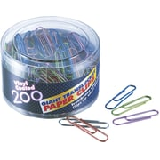 OIC® Giant Translucent Paper Clips, Smooth, 200/Pack