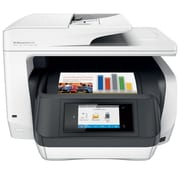 HP OfficeJet Pro 8720 All-in-One Inkjet Printer, White