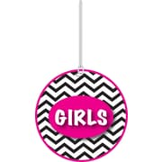 "Ashley 4"" Soft Rubber Chevron Girls Pass"