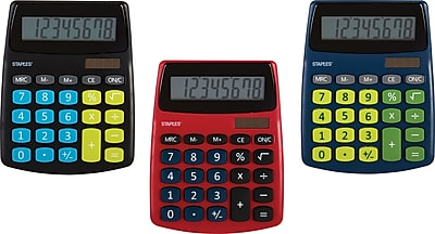 Staples SPL 230 8 Digit Display Calculator