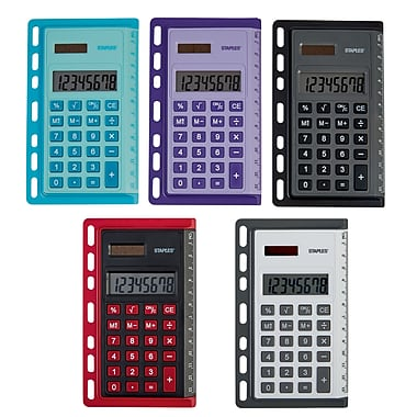Staples® Better Binder Calculator