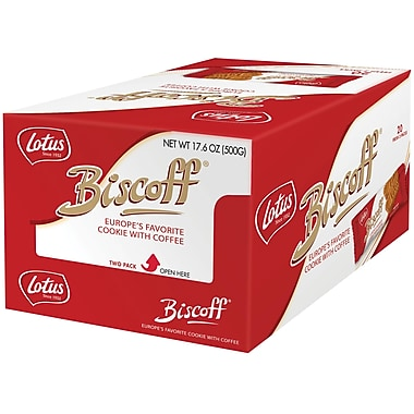 Biscoff Cookies, .09 oz. Packs, 20 Packs/Box