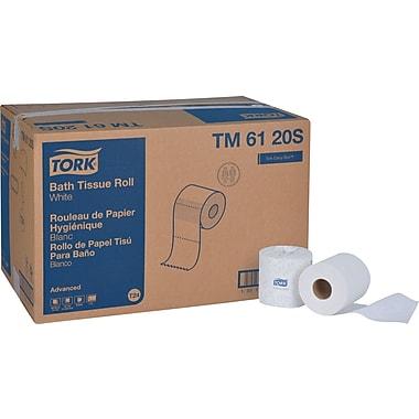 Tork® Bath Tissue Rolls, 2-Ply, 96 Rolls/Case