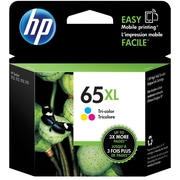 HP 65XL Tri-Color Ink Cartridge, High Yield (N9K03AN#140)