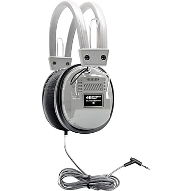 Hamilton Buhl HECHA7 SchoolMate Deluxe Stereo Headphone, Silver
