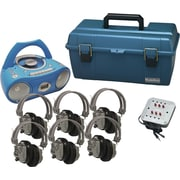 Hamilton Buhl Val-U-Pak CD Listening Center, 6 Station