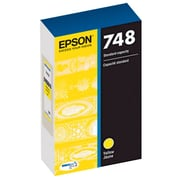 Epson T748XL DuraBrite Pro Yellow Ink Cartridge (T748XL420), High Capacity