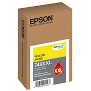 Epson T748XXL DuraBrite Pro Yellow Ink Cartridge, Extra High Capacity (T748XXL420)