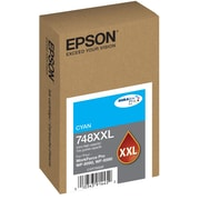Epson T748XXL DuraBrite Pro Cyan Ink Cartridge, Extra High Capacity (T748XXL220)