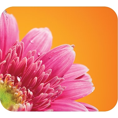 Staples® Pink Flower Mouse Pad